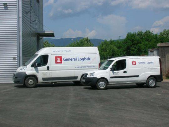 Express dostava General Logistic Dostava
